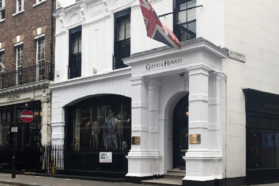 Gieves & Hawkes Exterior