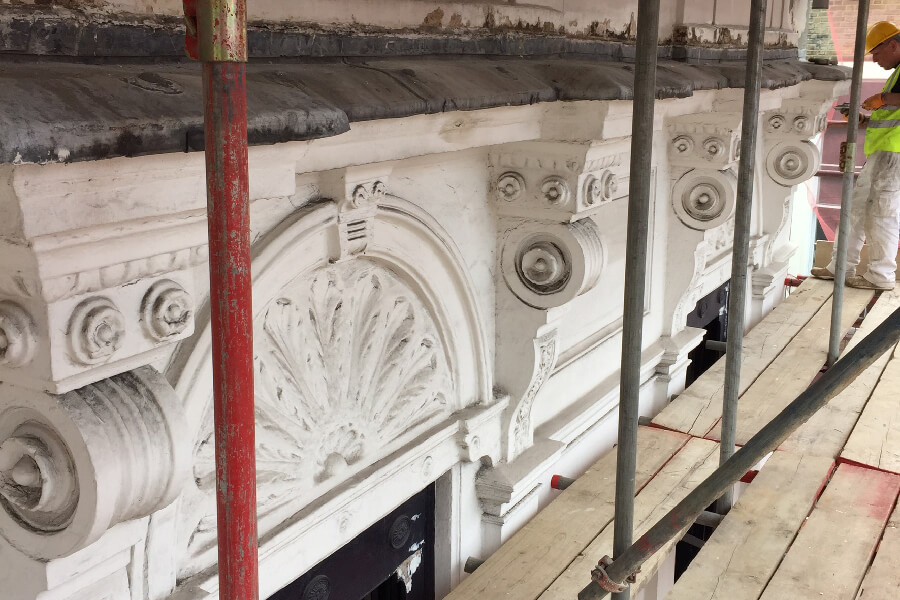 Building Arches Restoration